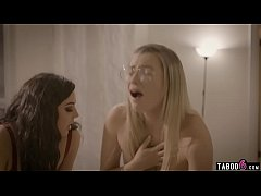 Stepsister teen and BFF trick her mean stepbrother