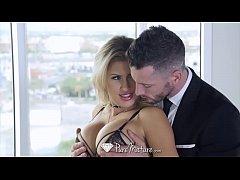 PureMature Big tit MILF blonde Savana Styles su...