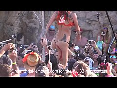 Wild Pool Party Contest With Naked Tits Ass & P...