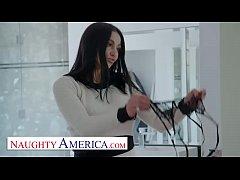 Naughty America - Audrey Bitoni lets her husban...