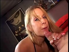 Playful blonde housewife Raquel Sieb has specia...