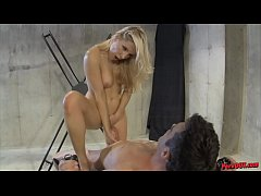 Ashley Fires Edges and Controls Her Slave's Org...