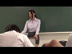 Japanese beautiful teacher be controlled by rem...