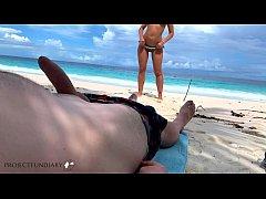 wild dick ride on public dream beach - projectf...