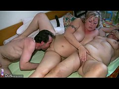 OldNanny Chubby mature and chubby milf have thr...