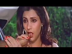 Sexy Indian Actress Dimple Kapadia Sucking Thum...