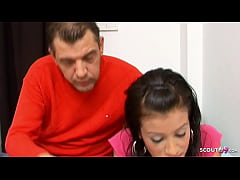 Dad Seduce Latina Step Daughter to Fuck when Mo...