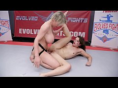 Victoria Voxxx nude wrestling compilation with ...