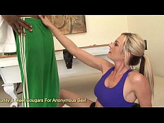 Sindy Lange Squirts Pussy Juice All Over Her Tr...