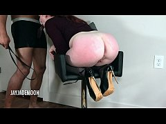 Innocent Redhead Throat Fucked and Spanked- Jay...