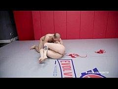 Lauren Phillips naked sex wrestling vs Indiana ...