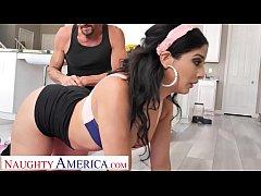 Naughty America - Misty Quinn's phat ass bounce...