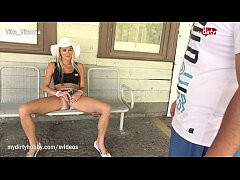 MyDirtyHobby - Hot MILF squirts on a strangers ...