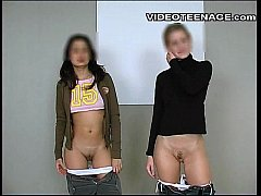 lesbian teens real video casting