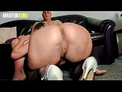 AMATEUR EURO - German BBW Oda Amelie Gets Picke...