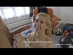 LaSublimeXXX First casting for super hot blonde...