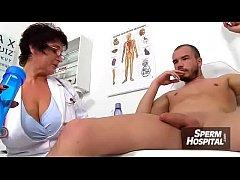 Mom boy medical porn scene feat. Czech MILF doctor Gabina