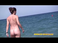 Young Nudist Cute Teen Beach Voyeur  Video