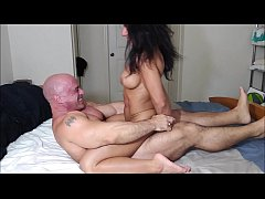 Body worship ends in fucking and creampie