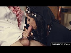 PORNFIDELITY Arab Girl Nadia Ali Punished by Wh...