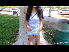 Real Teens - Chesty Asian Luna Mills Does Her F...