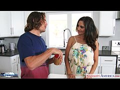 Busty milf Ava Addams fuck a large dick