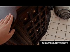 Horny Milf Julia Ann Gets House Sale By Giving ...