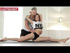 LETSDOEIT - Hardcore Erotic Yoga Sex With Delicious Teen Stella Flex