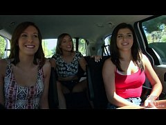 GIRLS GONE WILD - In A Cab Game Show With Three...