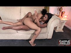 EVASIVE ANGLES Secret and her friend have big b...