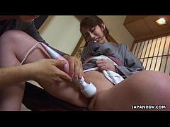 Clip sex Japanese kimono lady, Aya Kisaki is moaning, uncensored