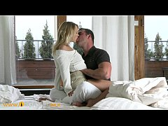 ORGASMS HD Sexy blonde coed intensely passionat...
