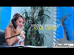 Office Horny Girl (Cali Carter) With Big Melon ...