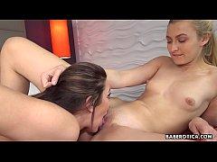Hot girl, Alexa Grace eats Tiffany Watson's pus...
