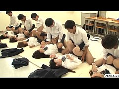 JAV synchronized schoolgirl missionary sex led ...