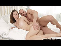 Casual Teen Sex - Hot sex on a Sofy Soul day te...