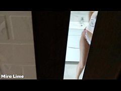 Spy and Creampie. Forced to fuck in bathroom 18...
