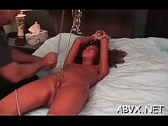 Sensational darling gets fucked raw and gets he...