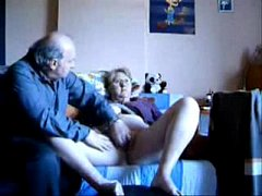 Fingering my slut old wife. Amateur older