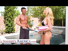 Naughty America - The beautiful MILF, Brandi Lo...