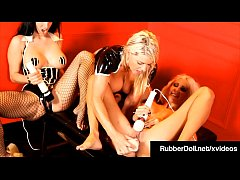 Holy Hitachi Love! RubberDoll, Puma Swede & Vic...