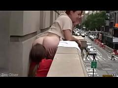 redhead dyke faggot gets her thicc ass eaten on...