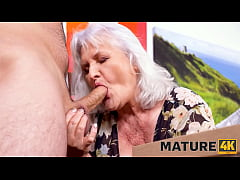 MATURE4K. Hey, waiter! A coffee for me and a fi...