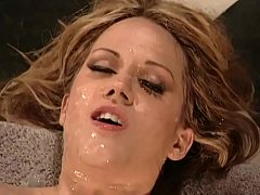 Inari Vachs gets Forced by 8 guys in front of h...