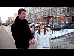 Casual Teen Sex - Warm sex Rosanna on a cold wi...