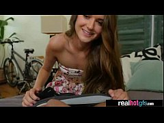 Real Hot GF Performing Amazing Sex On Tape clip-01
