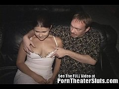 Cheating Slut Wife Pleases Porn Theater Strange...