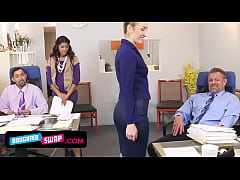 Horny Stepdads Switch Teeny StepDaughters At Work