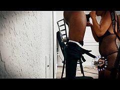 S1E7: Jasmine - Amazing Sloppy Blowjob Behind T...