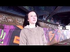 GERMAN SCOUT - FLEXIBLE SHY TINY GIRL PICKUP AN...